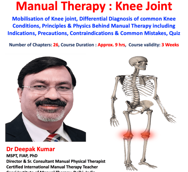 Manual Therapy Knee Joint