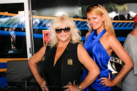 Miss Hurst Shifter, Linda Vaughn and Overhauling presenter, Miss Courtney Hansen were on hand to sign autographs for enthusiasts of all ages.