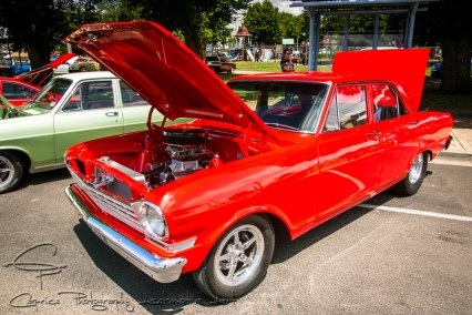 chevy nova, red cars