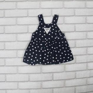 Vestido Azul OSHKOSH (6 meses) R$15