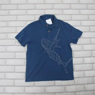 Blusa Polo Azul GAP (M) R$29