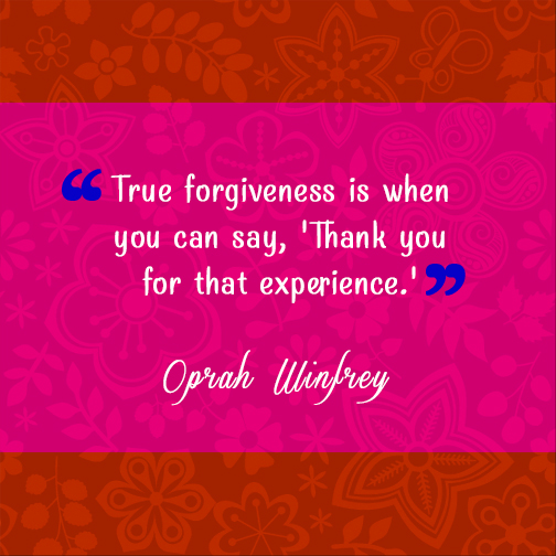 QUOTE: TRUE FORGIVENESS