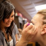 Makeup Application at Competition
