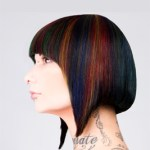 Multi-Colored Inverted Bob
