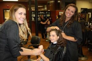 Haircare at Capri Camp