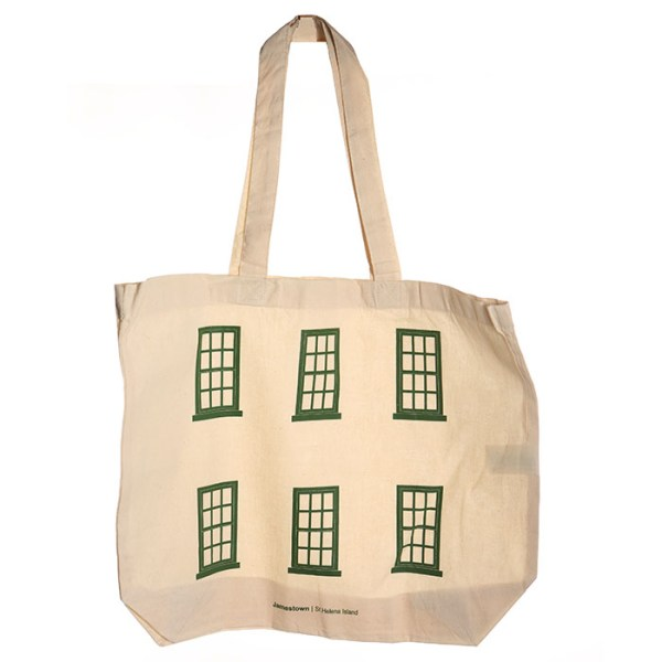 Jamestown St Helena Windows Tote Bag