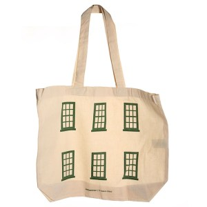 Jamestown St Helena Windows Tote Bag