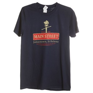 Men's St Helena NOLA t-shirt navy
