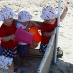 Beachy Keen-Enjoying a Day at the beach with toddlers