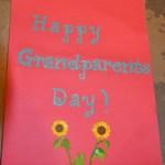Make a Grandparents' Day Card