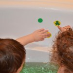 St. Patrick's Day Bath Fun
