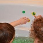 St. Patrick's Day Bath Fun