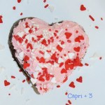 Brownie Hearts-a fun treat for Valentine's Day or Mother's Day