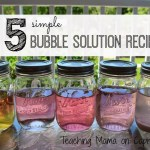 5 Bubble Recipes for Hours of Fun
