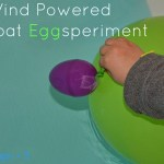 Wind Powered Boat Eggsperiment #playfulpreschool