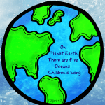 On Planet Earth, There are 5 Oceans-Children's Song