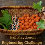 Fall  Playdough Engineering Challenge