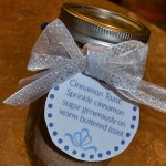 Cinnamon Sugar-Kid Made Gift