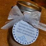 Cinnamon Sugar-Kid Made Gift