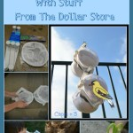 DIY Finch Bird Feeders-Outdoor STEM Project