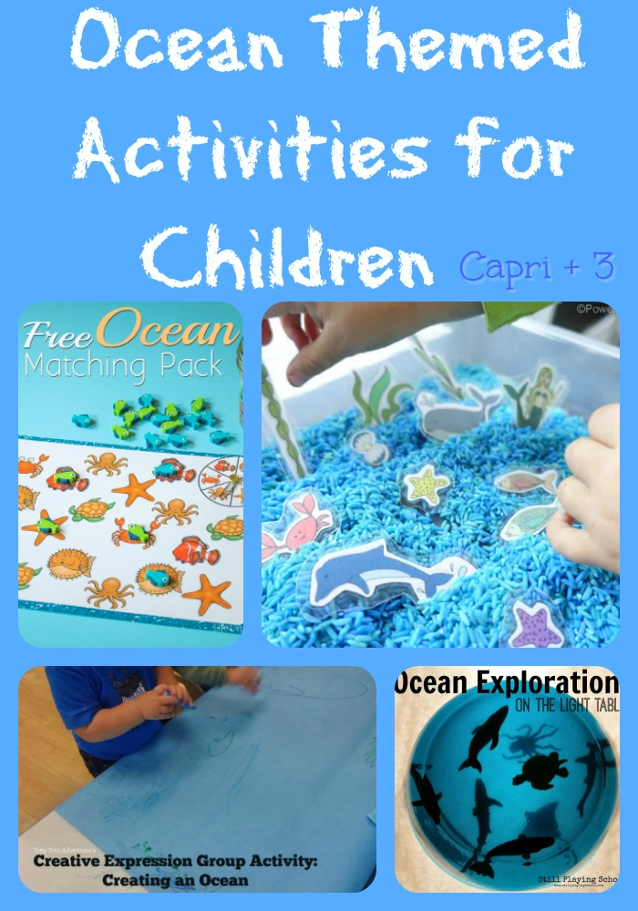 Ocean Themed Activities For Children