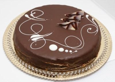Tarta de trufa y chocolate