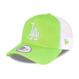 LA Dodgers Tonal Mesh Green A-Frame Trucker Cap