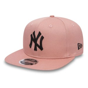 NY Yankees True Originators 9FIFTY Original Fit Pink Strapback