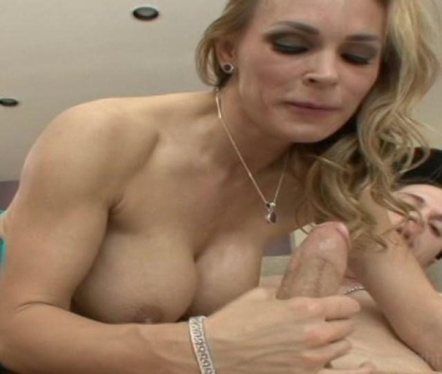Blonde Cougar Babe Enjoys A Big Dick