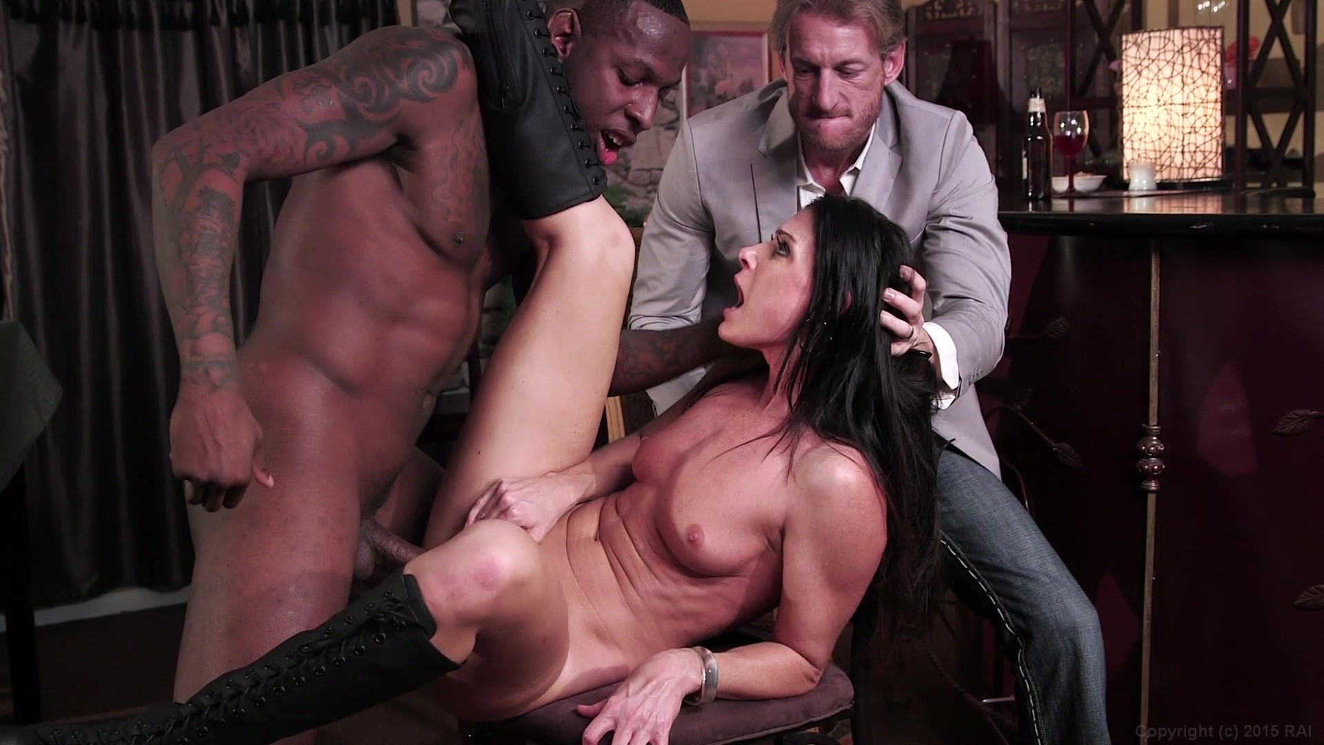 Beautiful Brunette India Summer Has Sex with a Hung Black Stud Starring: India Summer Jon Jon