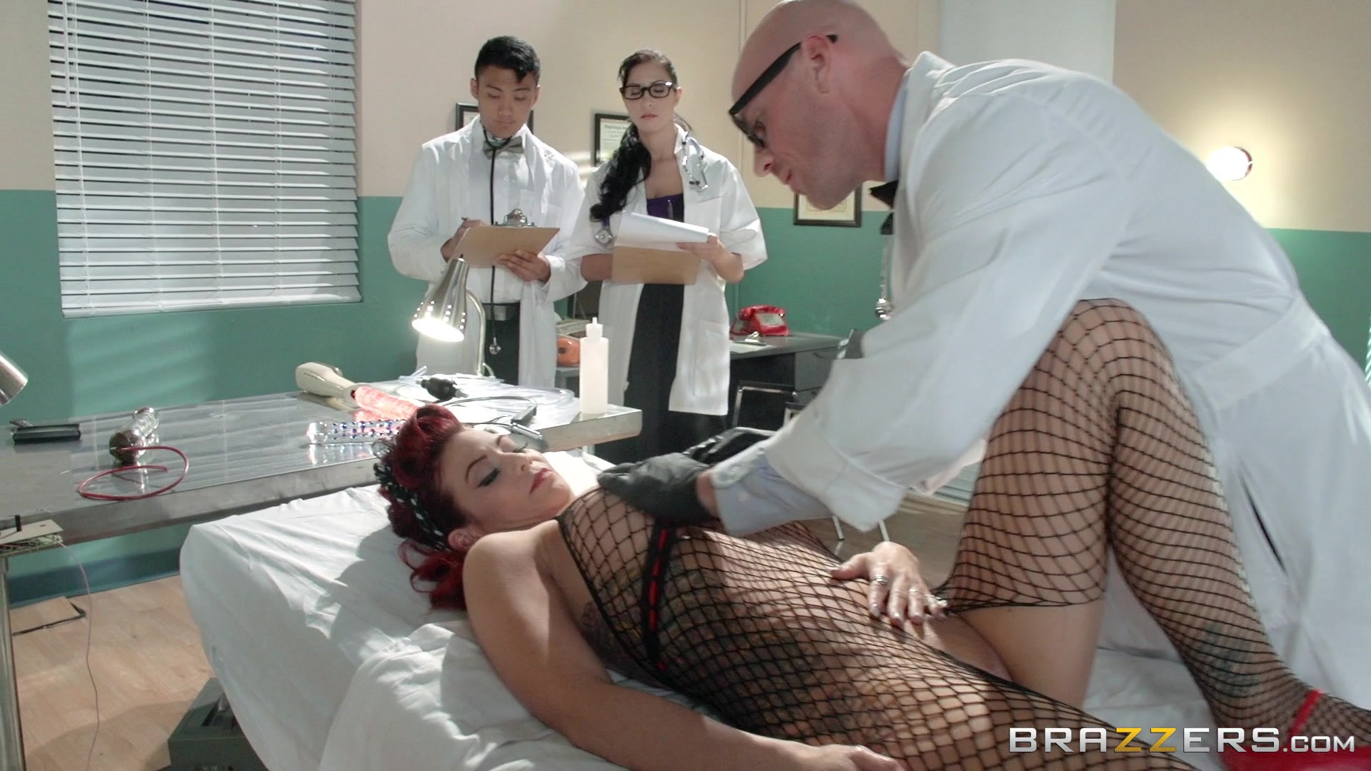 Busty Redhead Ryder Skye Gets Fucked Standing Up by Doctor. Starring: Ryder Skye Length: 32 min