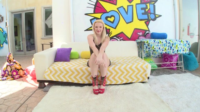 Pale Blonde Beauty Samantha Rone Enjoys Asshole Penetration Starring:  Samantha Rone
