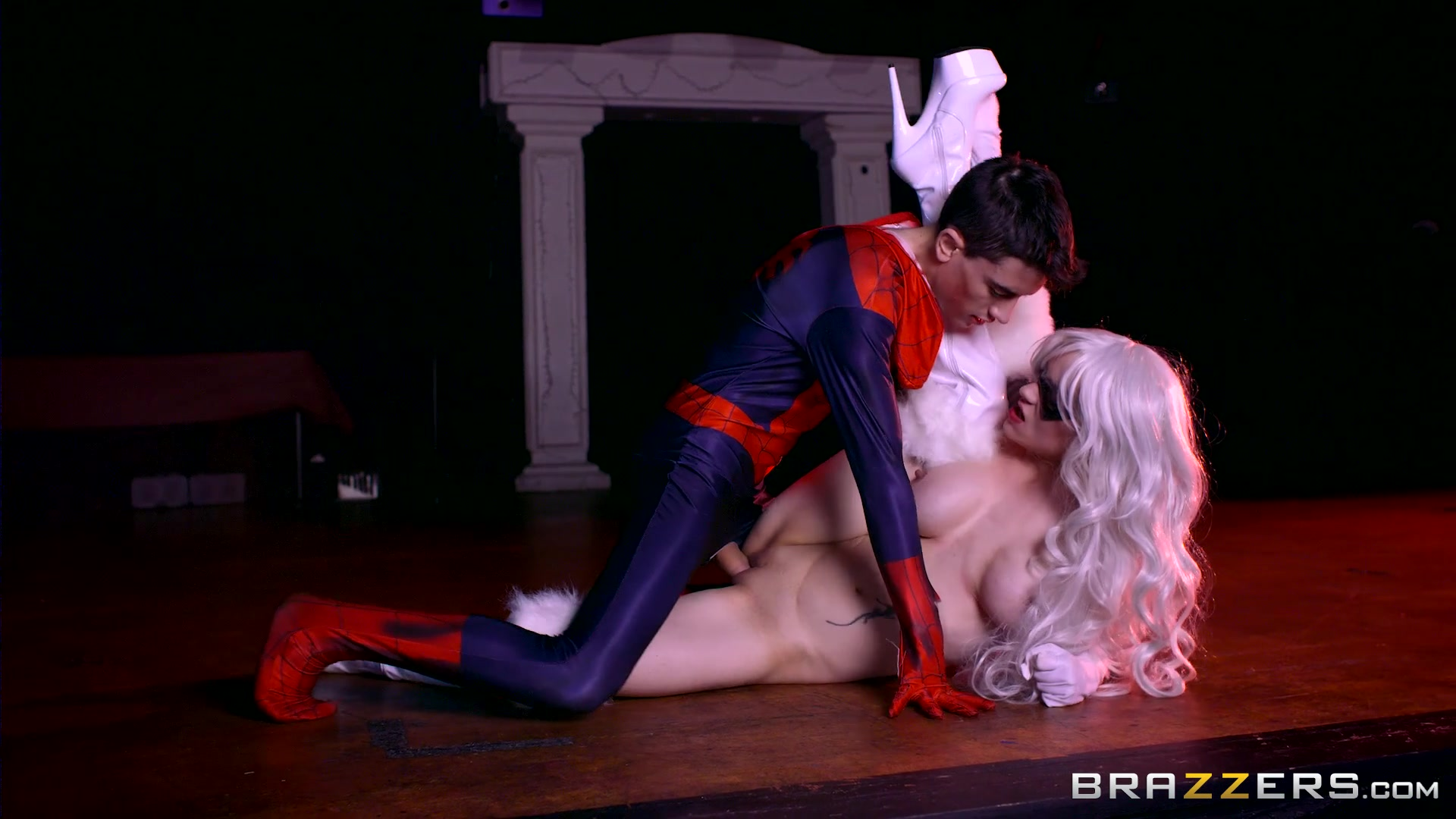Masked Beauty Gets Fucked by Spider-Man Length: 28 min