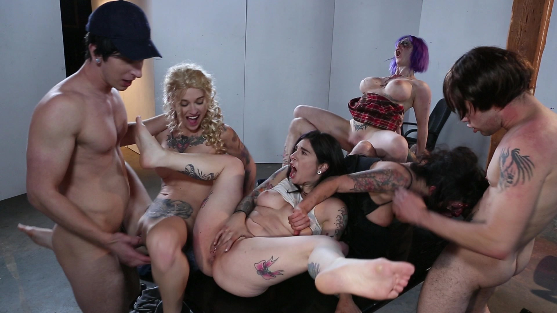 Gangbang Sex with Dead. Starring: Joanna Angel Tommy Pistol Danny Wylde Wolf Hudson Kleio Valentien Arabelle Raphael Larkin Love Length: 15 min