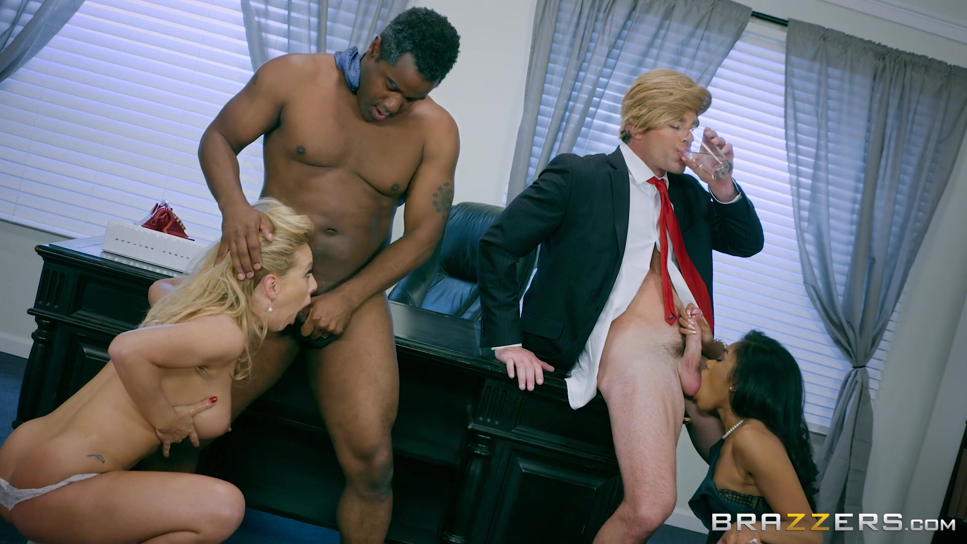 Blonde Beauty Cherie DeVille and Black Babe Yasmine DeLeon Enjoy Big Dicks on th... Starring: Cherie DeVille Yasmine DeLeon Length: 41 min