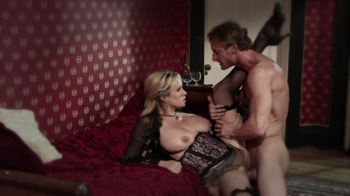 Hot Busty Blonde Stormy Daniels Sucks a Big Cock and Gets Fucked by Stud Ryan Mc... Starring: Stormy Daniels Ryan Mclane