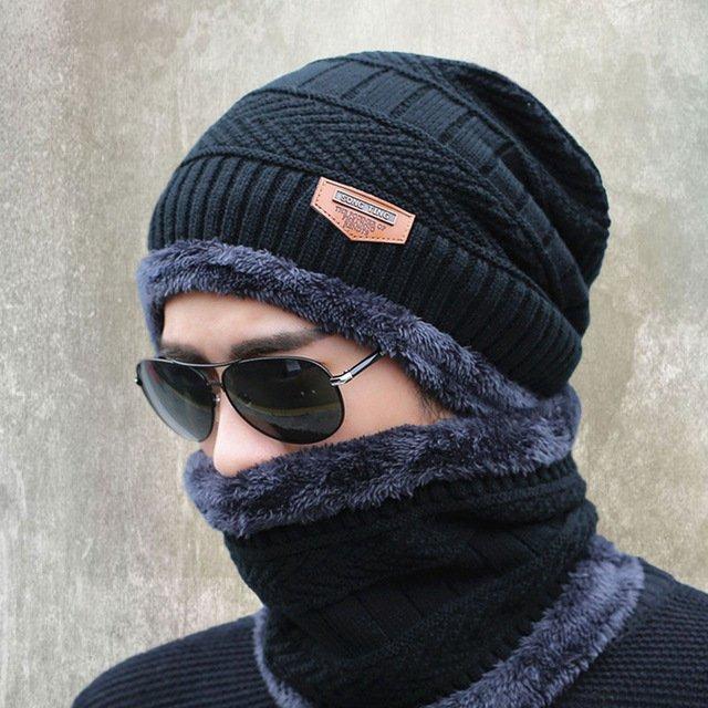 b611b4771375a 2016 new knitted hat fashion Beanies Knit Men's Winter Hat Caps Skullies  Bonnet For Men Women Beanie Casual Warm Baggy Bouncy