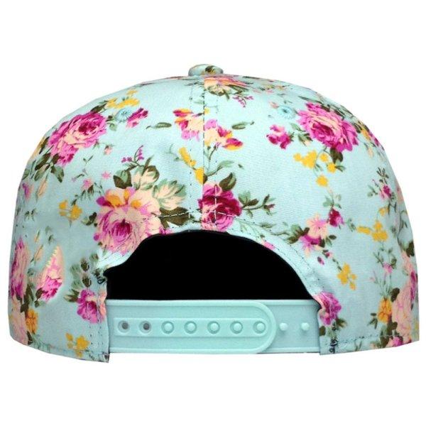 Men Women Baseball Cap Hip Hop Caps Floral Style 6