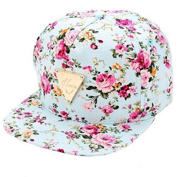 Men Women Baseball Cap Hip Hop Caps Floral Style 18