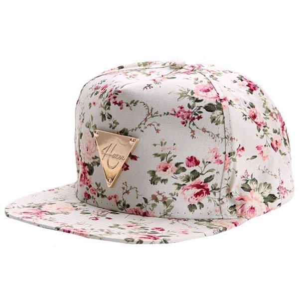 Men Women Baseball Cap Hip Hop Caps Floral Style 10