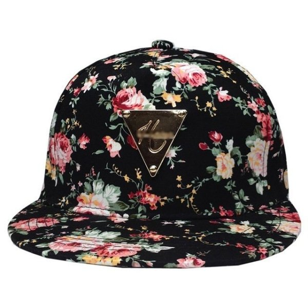 Men Women Baseball Cap Hip Hop Caps Floral Style 14