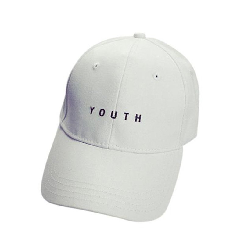 7c7ff9e50ed New Fashion Adult baseball Cap Cotton Caps Women Youth Letter Solid ...