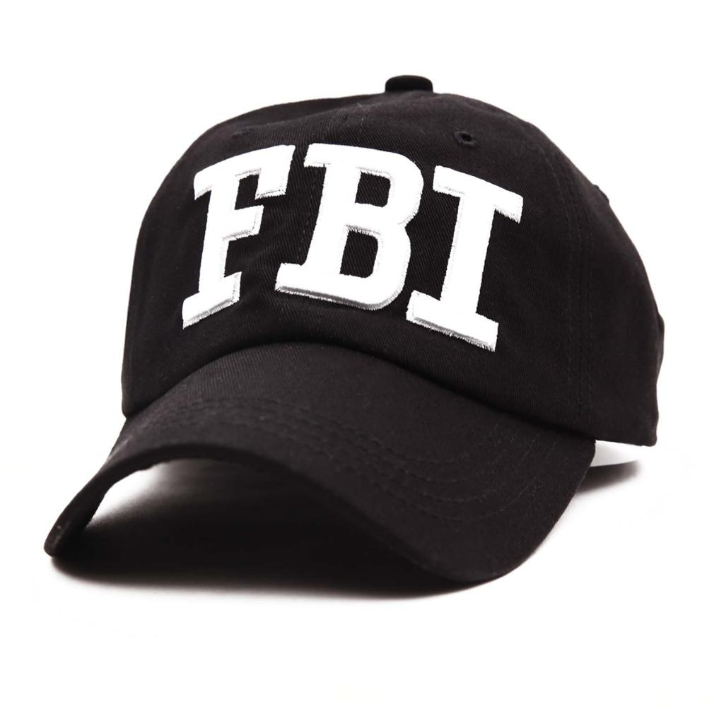 "decd691d14a 2 Style embroidery ""POLICE"" ""FBI"" Letter baseball cap snapback hats for men  women"