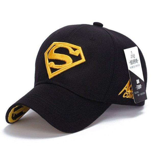 Gorras Superman Cap Casquette Superman Baseball Cap Men Brand Women Bone Diamond Snapback For Adult Trucker Hat 16