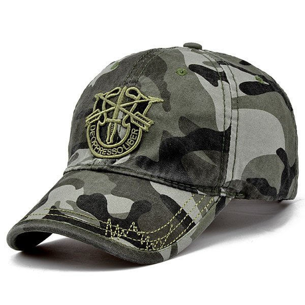 New Brand Fashion Army Camo Baseball Cap Men Women Tactical Sun Hat Letter Adjustable Camouflage Casual Snapback Cap 12