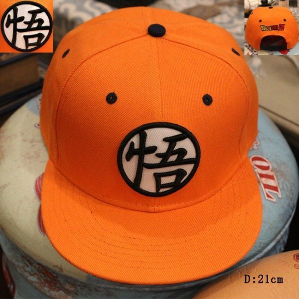 New High Quality Anime Dragon Ball Z /Dragonball Goku Snapback Hat For Men Women Adjustable Hip Hip Baseball Cap Cool 4