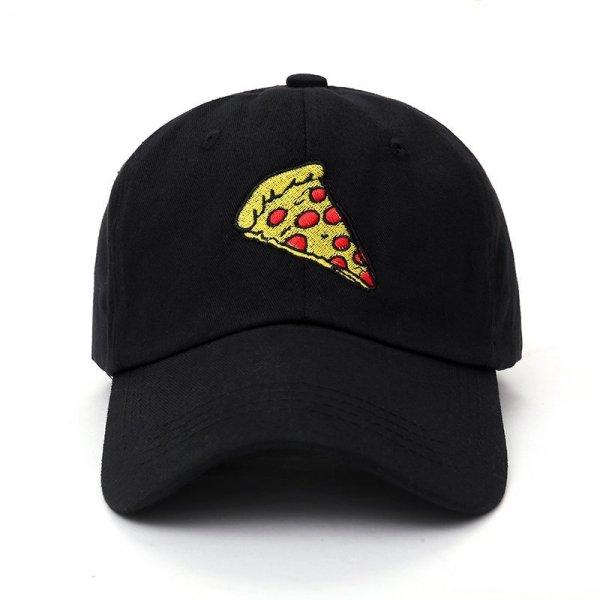 new pizza embroidery Baseball Cap Trucker Hat For Women Men Unisex Adjustable Size dad cap hats 2