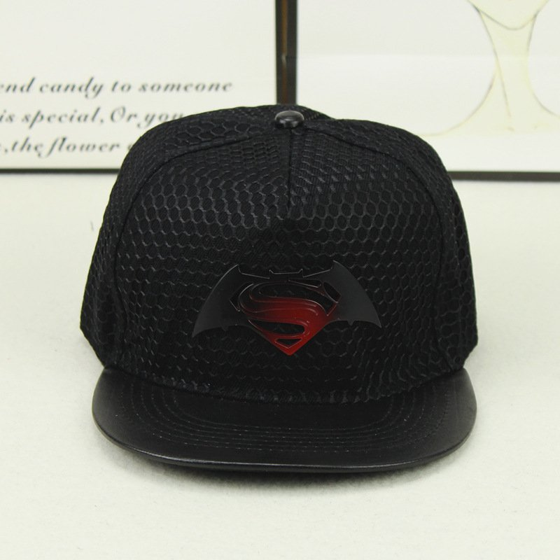 2018 Fashion Superman Batman Snapback Hats For Men Women Summer Baseball Cap  Casual Outdoor Sports Hip Hop ... 51150e86e1b