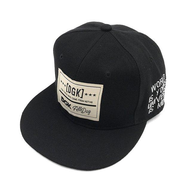 Brand DGK Snapback Caps Flat Hip Hop Baseball Cap Casquette Gorras ... f53ce73ddb9