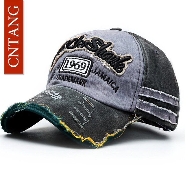 CNTANG Summer Fashion Vintage Baseball Cap Casual Washed Cotton ... 2d3253739